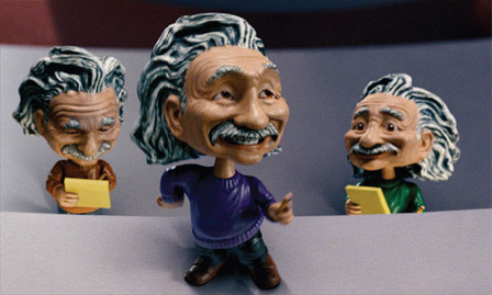 Albert Einstein bobbleheads