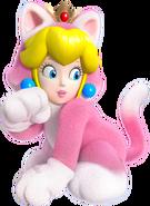 SM3DW Cat Princess Peach