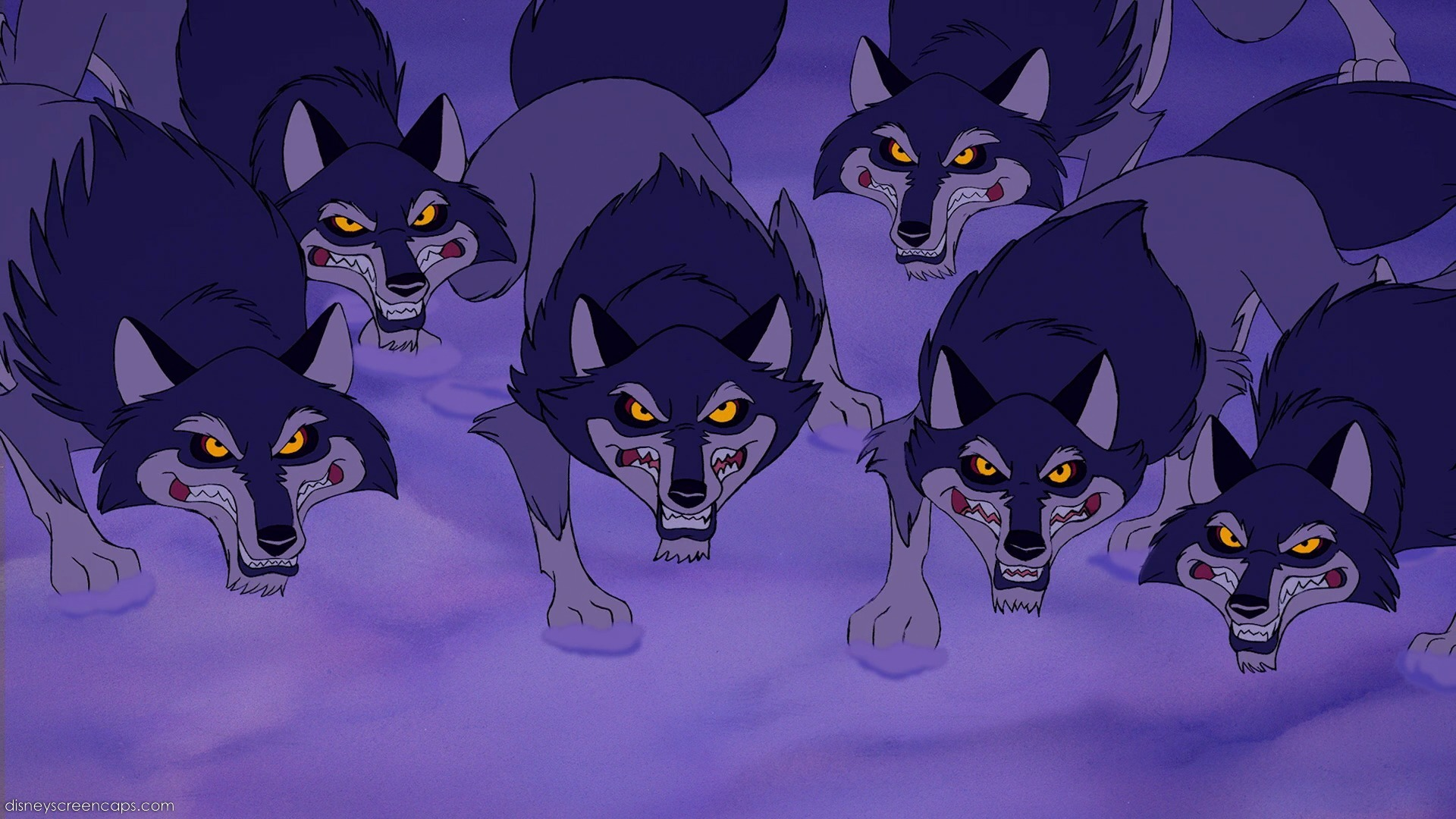 Wolves (Beauty and the Beast)