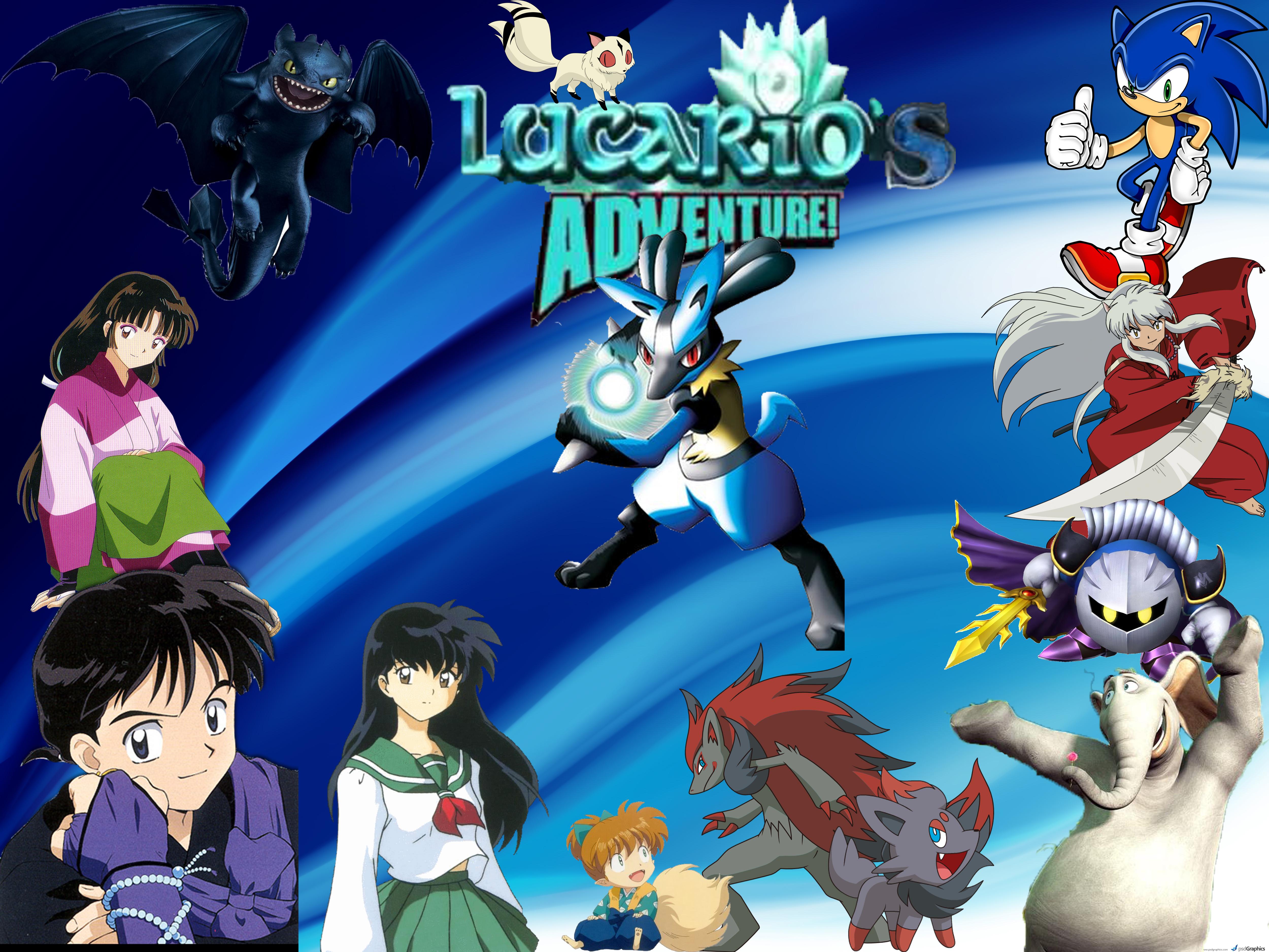 Lucario's Adventures Series