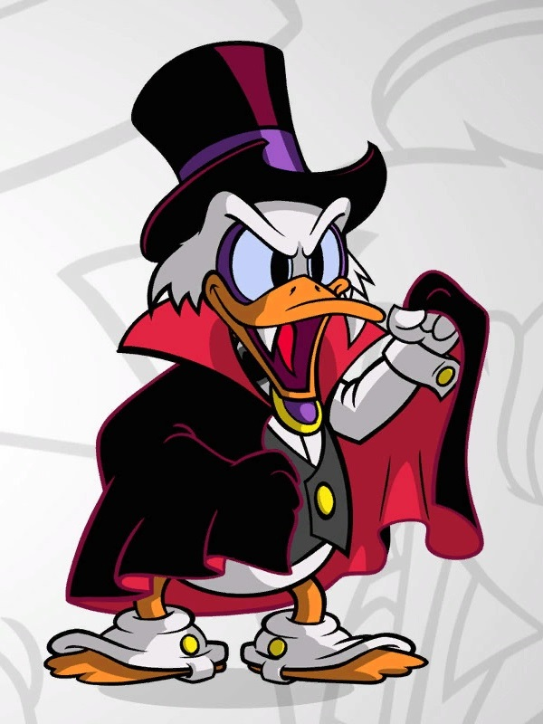 Count Dracula Duck