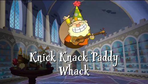 Jeffrey, Jaden & Friends' Storm Adventures of The 7D - Knick Knack Paddy Whack