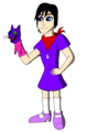 Xion's hand puppet color