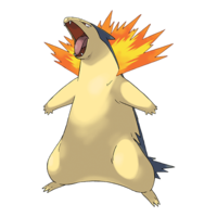 Courtney's Typhlosion