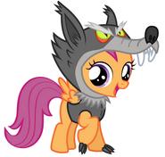 Scootaloo werewolf