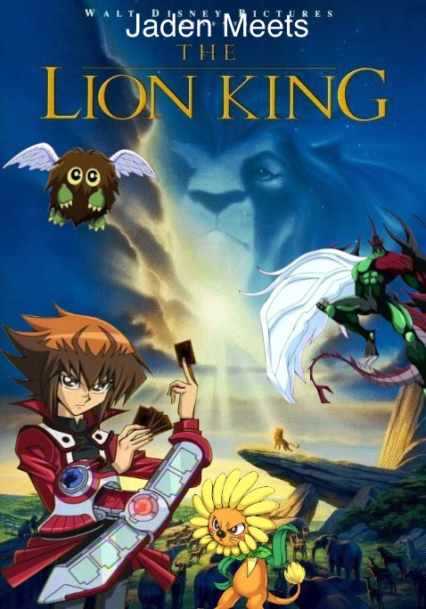 Jaden meets The Lion King