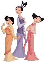 Princess Ting-Ting, Mei and Su