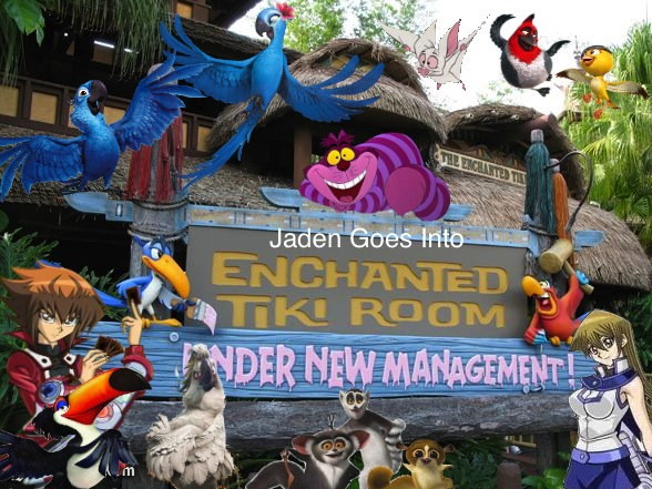 Jaden Goes Into the Enchanted Tiki Room Under New Management