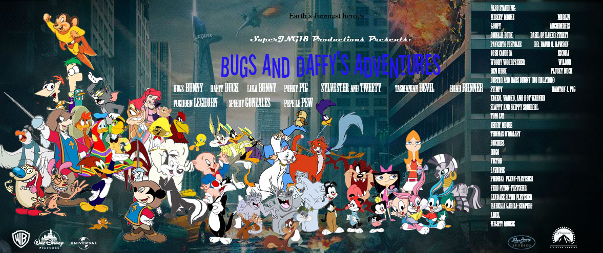Bugs and Daffy's Adventure Series