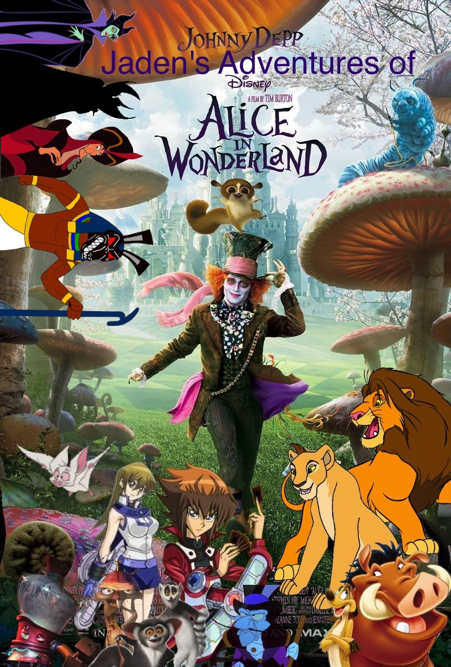 Jaden's Adventures of Alice in Wonderland (2010 version)