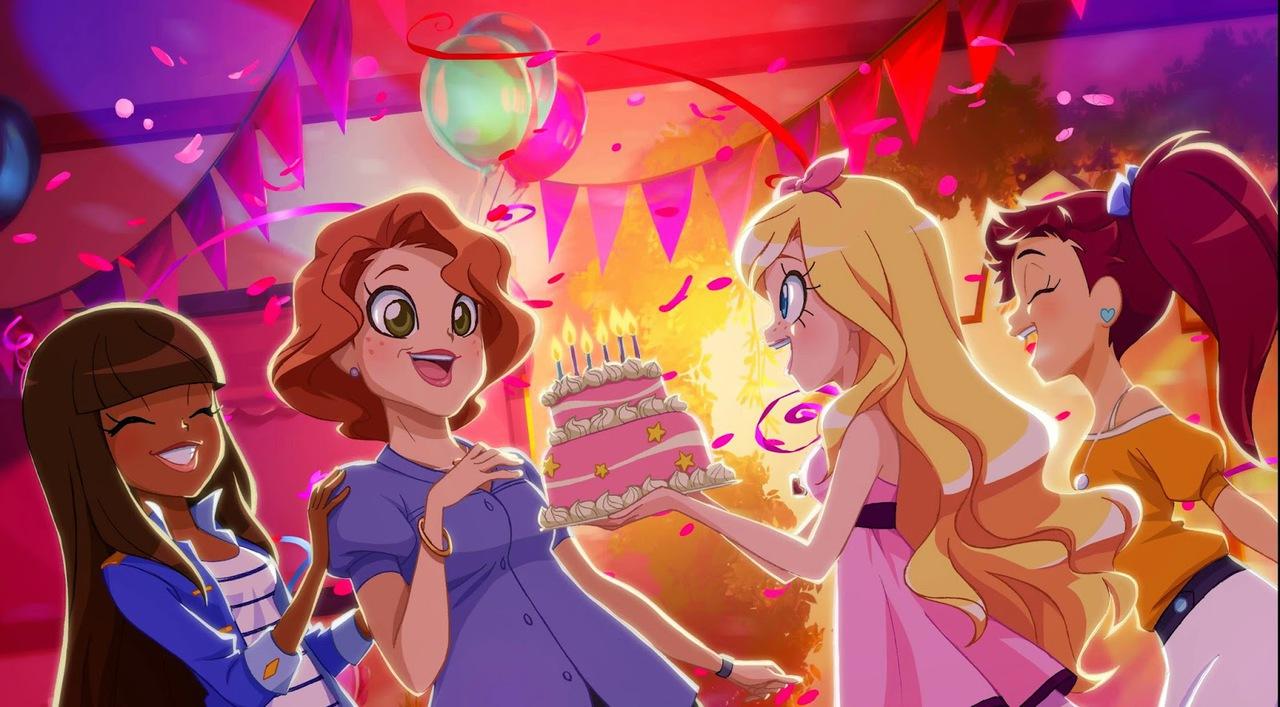 Courtney's Adventures of LoliRock- The Birthday