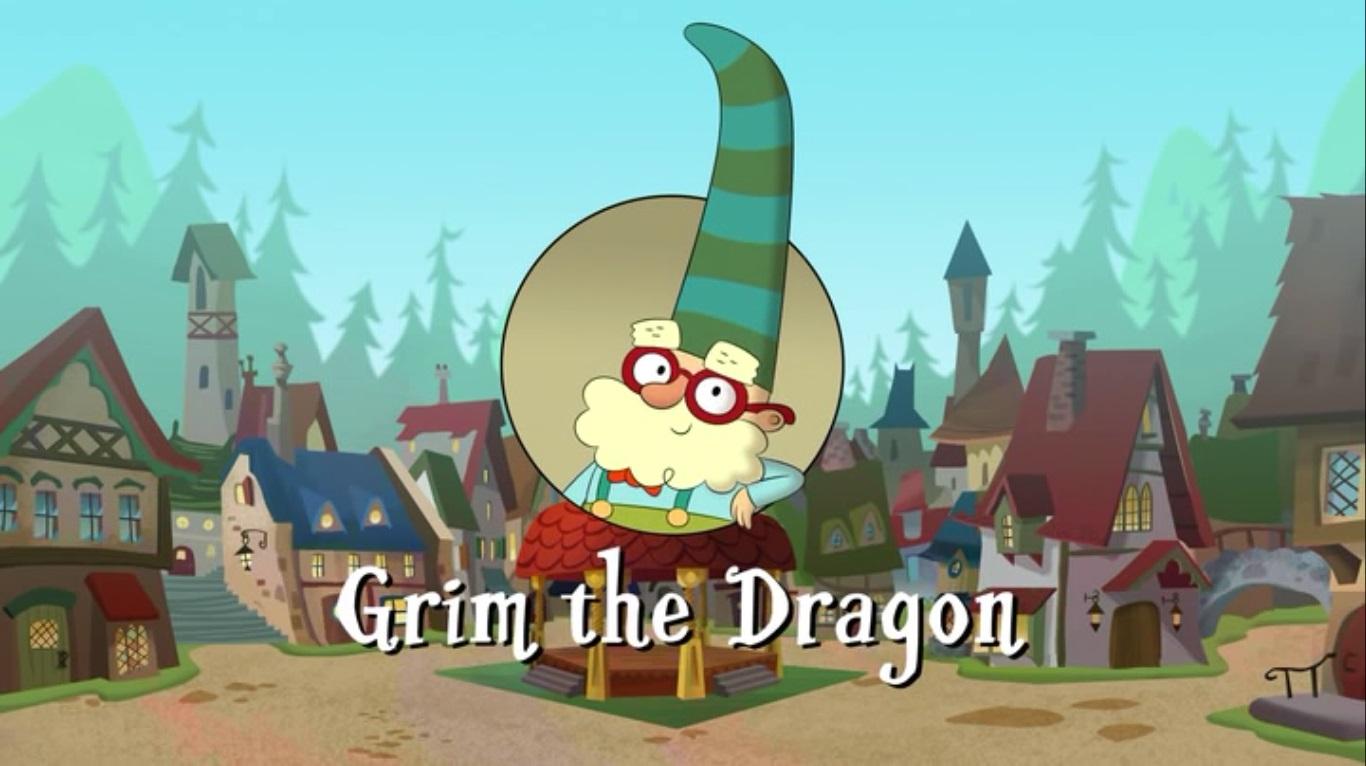 Jeffrey, Jaden, Hiccup and Friends' Storm Adventures of The 7D - Grim the Dragon