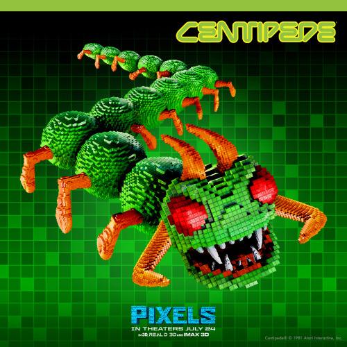 Centipedes (Pixels)