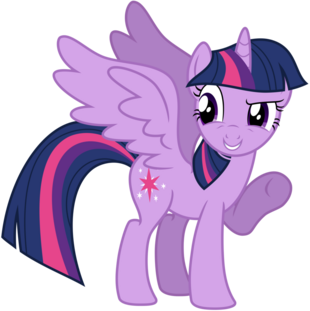 FANMADE Vector Alicorn Twilight Sparkle by kysss90.png