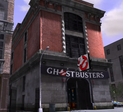 Ghostbusters Firehouse HQ