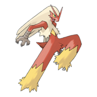 Courtney's Blaziken