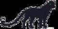 Black Leopard Natural Form