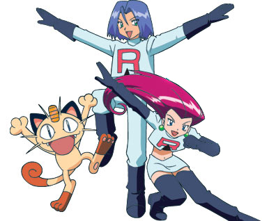 Jessie, James and Meowth
