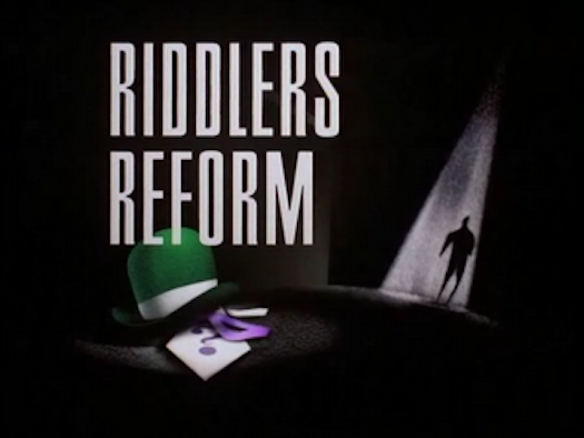 Jeffrey, Jaden & Friends' Storm Adventures of Batman: The Animated Series - Riddler's Reform