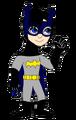 Little Xion as Batgirl