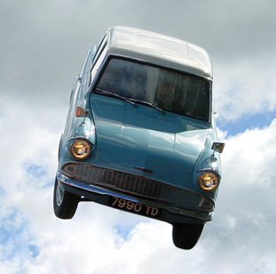 Flying Ford Angila