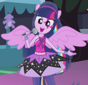 Twilight's first Rainbooms outfit ID EG2