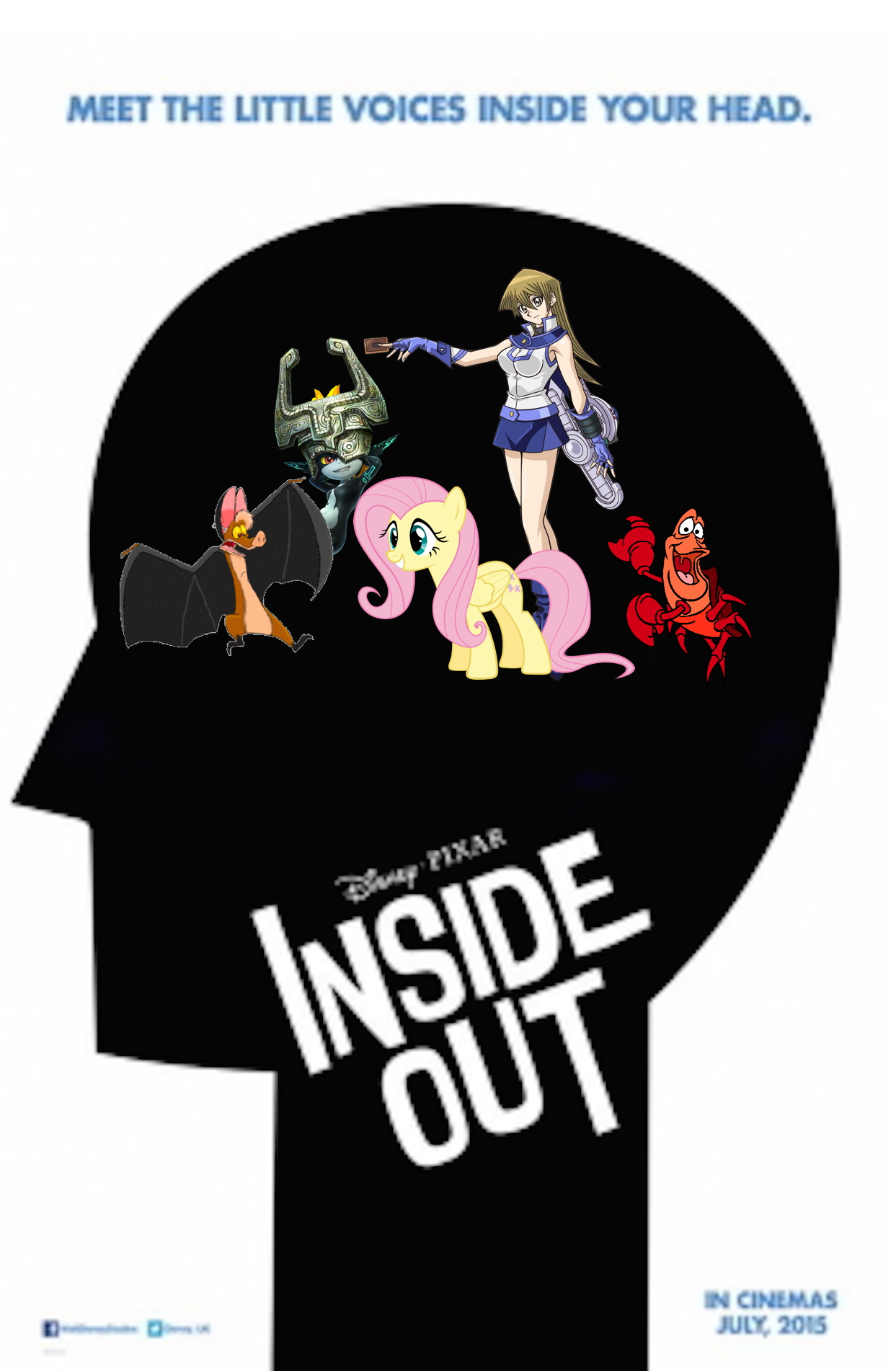 Inside Out (Ren the God of Humor style)
