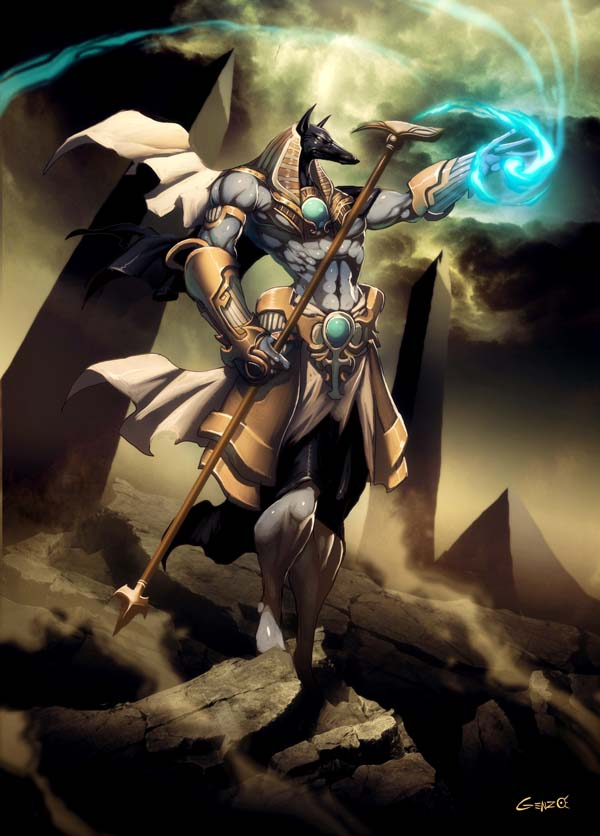 Anubis the God of Death
