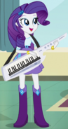 Rarity in Equestria Girls