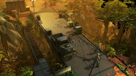 Jagged Alliance Rage - Screenshot - Brücke