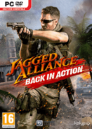 Jagged Alliance- Back in Action - Box art Europe