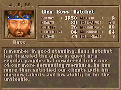"""Glen """"Boss"""" Hatchet"""
