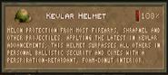 Kevlar helmet