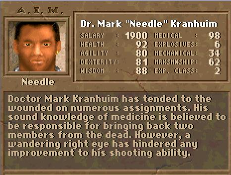 """Dr. Mark """"Needle"""" Kranhium"""
