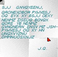 Jagged Alliance - message journal seul