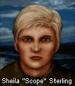 Sheila scope sterling face