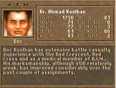 "Dr. Ahmad ""Doc"" Koolhan"
