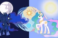Celtestia-and-Luna-mlp-fim-princess-luna-and-princess-celestia-33271910-612-408