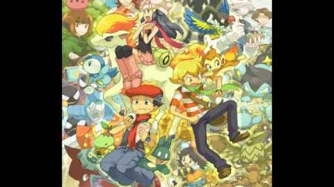 Pokemon D P P Remix Rival Battle