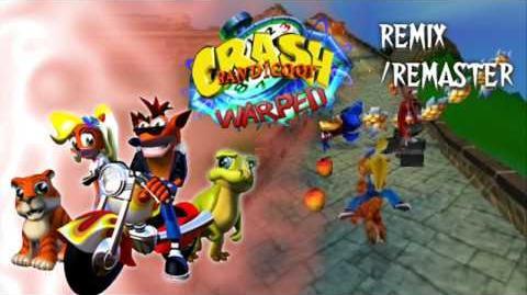 Crash Bandicoot 3 Warped - China levels Remix