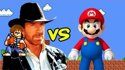 Chuck Norris vs Super Mario Bros