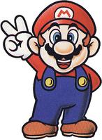 SMW Mario V-sign Artwork