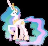 Princess celestia vector by misterlolrus-d4d2kvb