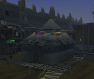 Oracle's hut exterior