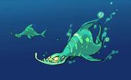 Lurker shark early concept art