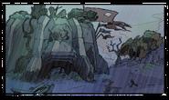 Metal Head nest (Jak II) concept art