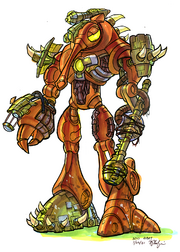 Gol and Maia's Precursor robot concept art.png