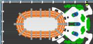 Mar Memorial Stadium map