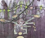Gol and Maia's citadel concept art