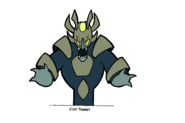 Gun course target concept art for Jak II